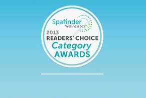 2013 SpaFinder's Readers' Choice Awards