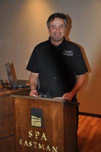 Jean-Marc Enderlin, nutrithérapeute et chef formateur