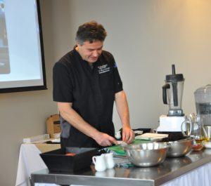 Jean-Marc Enderlin, nutrithérapeute et chef formateur au Spa Eastman