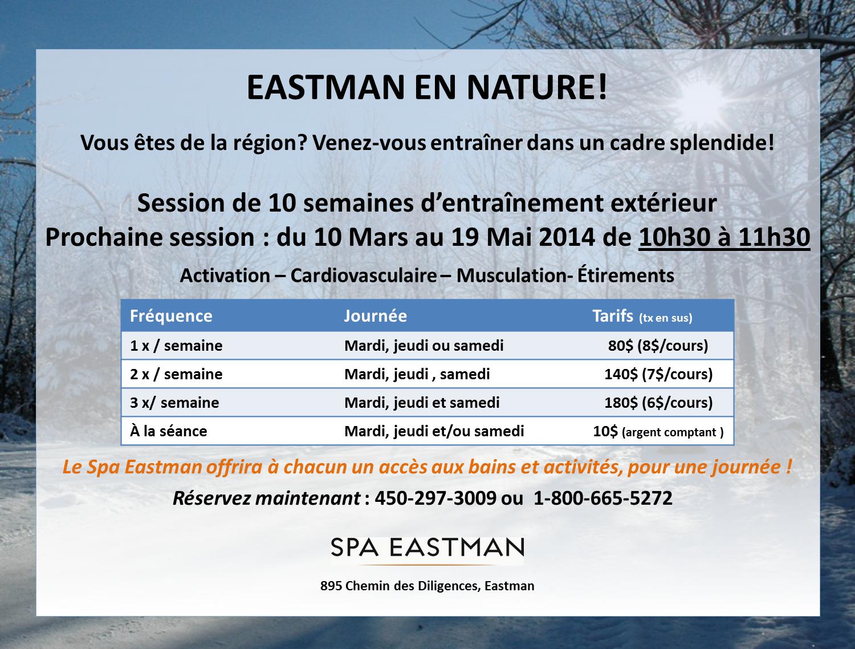Eastman en nature 2014